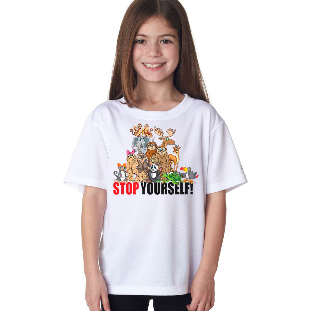 Youth Stop Yourself T-Shirt